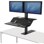 Fellowes Lotus™ VE Sit-Stand Workstation - Dual (8082001)