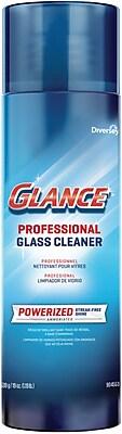 Glance® Powerized Professional Glass Cleaner, Aerosol, 19 Oz.