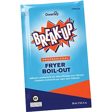 Break-Up® Professional Fryer Boil-Out, 2 Oz. Packets