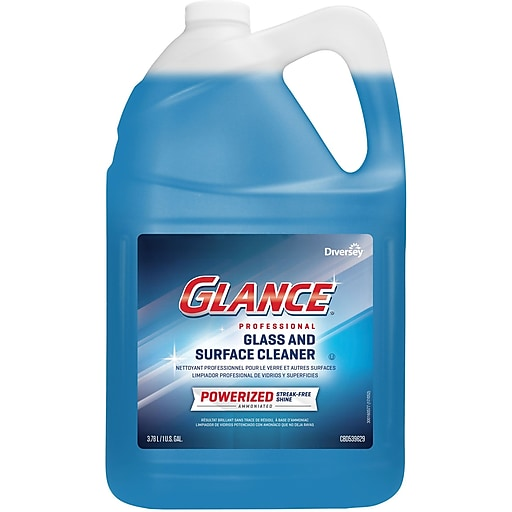 Glance® Powerized Professional Glass & Surface Cleaner, 1 Gallon, EA