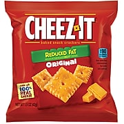 Cheez-It Cheese Cracker, Reduced Fat, 1.5 oz., 60/Carton (KEE12226)