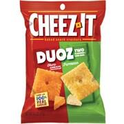 Cheez-It Duoz Cheese Cracker, Sharp Cheddar & Parmesan, 4.3 Oz., 6/CT