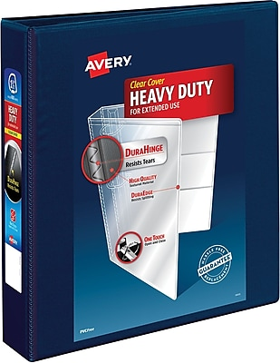 Avery Heavy-Duty View Binder, 1-1/2