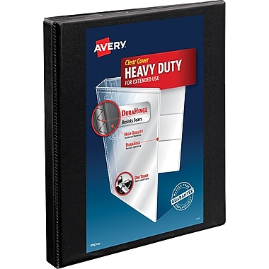 Avery® Heavy-Duty Nonstick View Binder with 1/2
