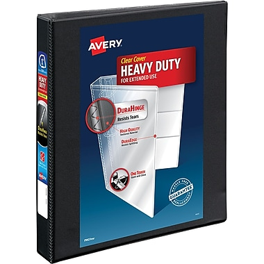 Avery® Heavy-Duty Nonstick View Binder with 1