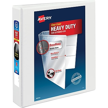 Avery® Heavy-Duty Nonstick View Binder with 1-1/2
