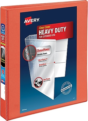 Avery Heavy-Duty View Binder with 1