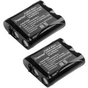 Insten® Cordless Phone 3.6V Replacement Ni-MH Battery For Panasonic P-P511 TYPE 24, 2/Pack(1303235)