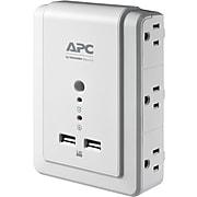 APC SurgeArrest 6 Outlet Surge Protector, 1080 Joules (P6WU2)