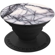 Popsockets: Expanding Stand & Grip for Smartphone & Tablet- White Marble