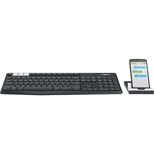 af33c546e78 Logitech K375s Multi-Device Wireless keyboard and Stand Combo (920-008165)  | Staples