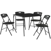5 pc  Folding Table and Chair