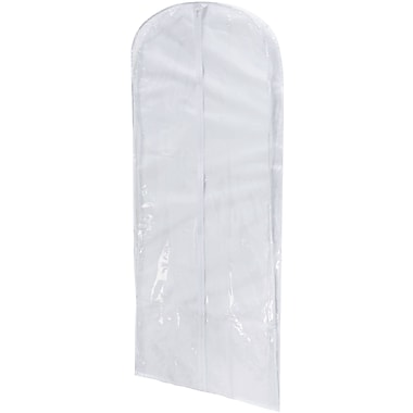Honey Can Do 2 Pack Clear PEVA Dress Bag