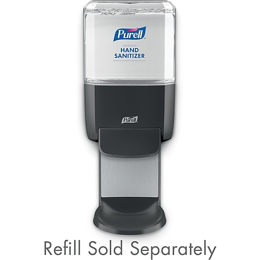 PURELL® ES4 Push-Style Hand Sanitizer Dispenser, Graphite, for 1200 mL PURELL ES4 Hand Sanitizer Refills (5024-01)