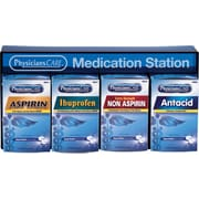 First Aid Only® Medication Station with Medication (90780)