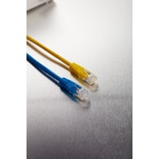 Staples 7' CAT6 Network Streaming Ethernet Cables, Blue and Yellow, 2 Pack (51767US)