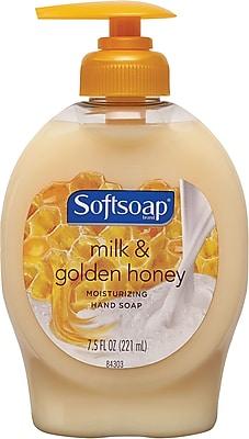 Softsoap Naturals Liquid Hand Soap Base Pump, Milk & Honey, 7.5 Oz.