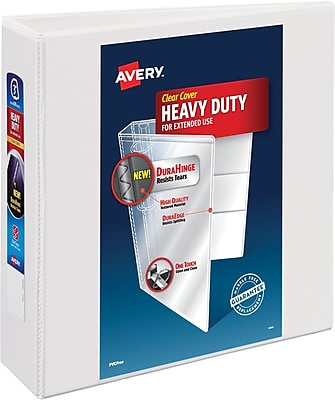 Avery Heavy-Duty View Binder, 3
