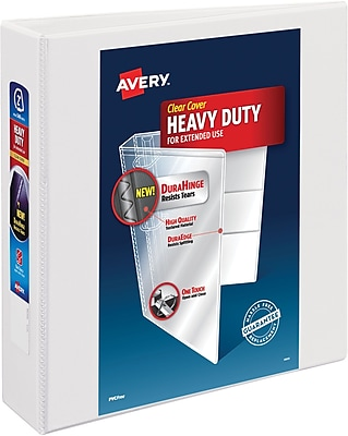 Avery Heavy-Duty View Binder, 2