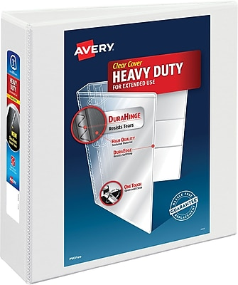 Avery Heavy-Duty Nonstick View Binder, 3