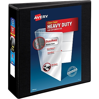 Avery® Heavy-Duty Nonstick View Binder with 3