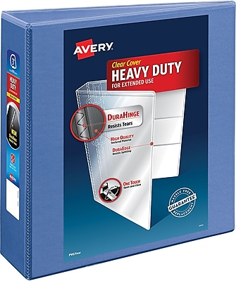 Avery Heavy-Duty View Binder with 3