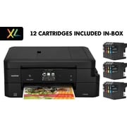 MFC-J985DW XL Wireless Color Inkjet All-in-One Printer with up to 2 Years of Ink (12 INKvestment cartridges included)
