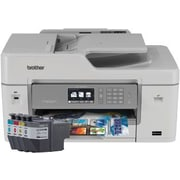 Brother MFC-J6535DW Wireless Color Inkjet All-In-One Printer with INKvestment Cartridges