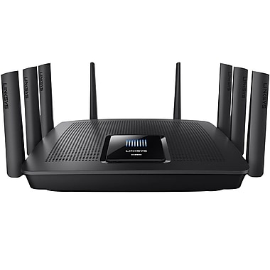 Linksys AC5400 Tri Band Wireless and Ethernet Router, Black (EA9500-RM)