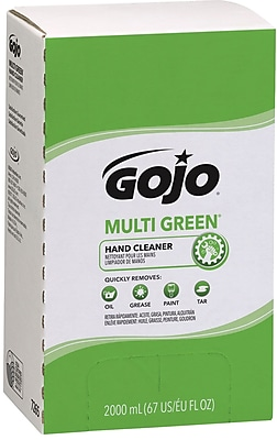 Gojo PRO 2000 Multi Green Hand Cleaner Refill, Citrus, 2000 ml, 4/Case