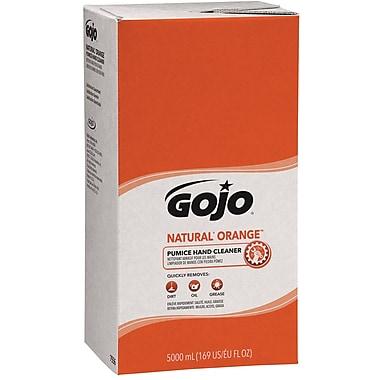 GOJO PRO 5000™ Natural Orange Pumice Hand Cleaner Refill, Orange Citrus, 5000 ml, 2/Case