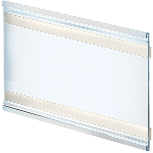 "Azar Displays Plastic Nameplate, 11""W x 6""H, 10/PK (199622)"
