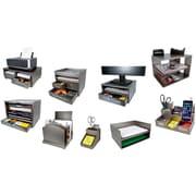 Victor® Wood Desk Accessories, Classic Silver