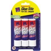 Avery Glue Stic for Envelopes, .26 oz, 3/Pk