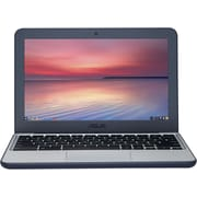 "ASUS® C202SA-YS02 11.6"" Chromebook, LCD-LED, Intel Celeron® N3060, 16GB Flash, 4GB RAM, Chrome OS, Dark Blue/Silver"