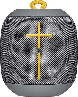 Logitech Ultimate Ears WONDERBOOM Super-Portable Waterproof Bluetooth Speaker, Stone Grey