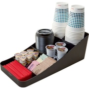 Staples 7-Compartment Coffee Station Organizer