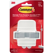 Command™ Large Broom Gripper, White/Gray (17007-ES)