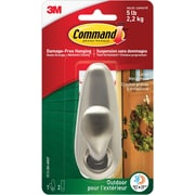 Command™ Outdoor Large Metal Hook