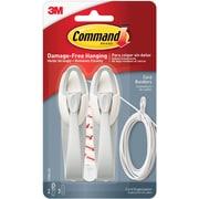 Command™ Cord Bundlers, White, 2/Pack (17304-ES)
