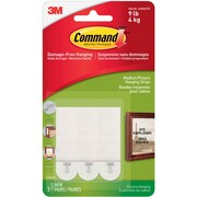 Command™ Medium Picture Hanging Strips, White, 3/Pack