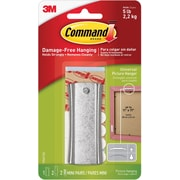 3M™ Command™ Sticky Nail Sawtooth Hanger, Silver