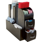 Staples Vertical Coffee Station Organizer