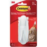 Command™ Large Designer Hook, White, Each (17083ES)
