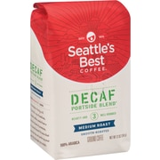 Seattle's Best Coffee® Portside Blend Ground Coffee, Decaffeinated, 12 oz. Bag