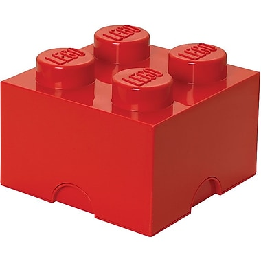 LEGO Storage Brick 4 Bright Red