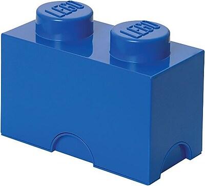 LEGO Storage Brick 2 Bright Blue