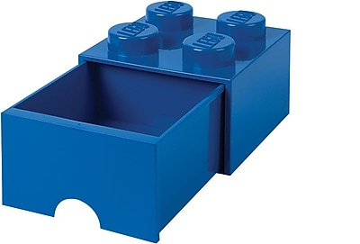 LEGO Storage Brick Drawer 4, Bright Blue