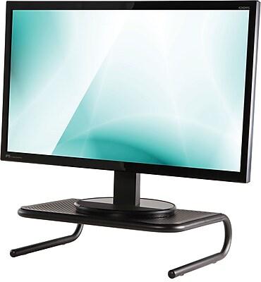 Staples Standard Steel Monitor Stand, Black