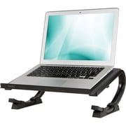 Staples Adjustable Steel Curved Laptop Stand